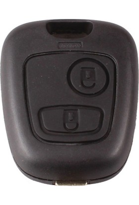 Peugeot 2 Buton Anahtar Kabı (Pantograf)