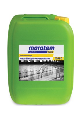Maratem M820 (Yosun Önleyici Ve Dezenfektan) 20 L