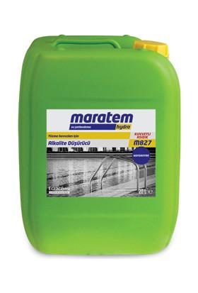 Maratem M827 (Alkalite Düşürücü) 20 L