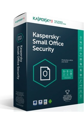 Kaspersky Small Office Security V5 / 10 PC + 1 Server / 1 Yıl / Lisans (USB Şeklinde )