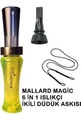 Buck Gardner Mallard Magic Ördek Düdüğü Seti 2 F.Green Blue