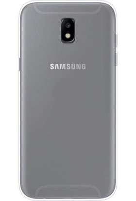 Teleplus Samsung Galaxy J7 Pro Yumuşak Silikon Kılıf Şeffaf