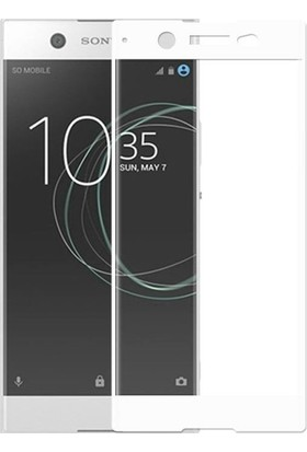 Teleplus Sony Xperia Xz Premium Tam Kapatan Cam Ekran Koruyucu Beyaz