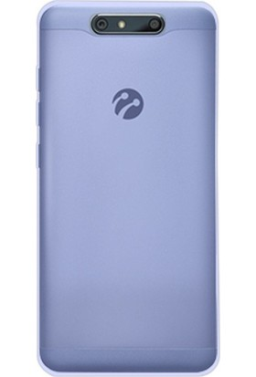 Teleplus Turkcell T80 Yumuşak Silikon Kılıf Mavi