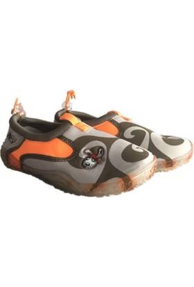 Vicco Deniz Ayakkabısı Haki - Oranj