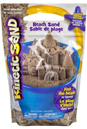Kinetic Sand Doğal Plaj Kumu 136 kg