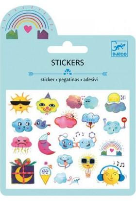Djeco Sticker Gökyüzü