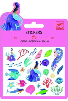 Djeco Sticker Deniz Kızı