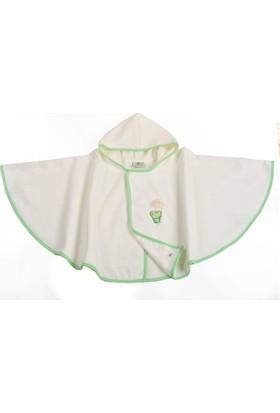 Organicera NKS-10 Havlu Panço Yeşil 12-24 Ay
