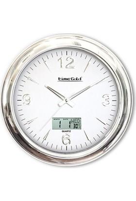 Time Gold 172 Sonar Gümüş Duvar Saati