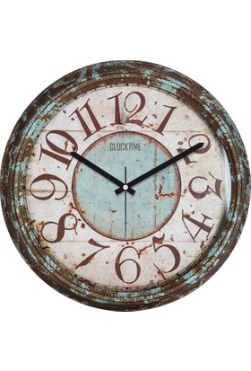Clocktime By Cadran 30x30 Cm MDF Duvar Saati CTM103