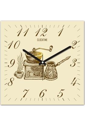 Clocktime By Cadran 30x30 Cm MDF Duvar Saati CTM120