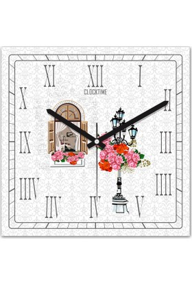 Clocktime By Cadran 30x30 Cm MDF Duvar Saati CTM143