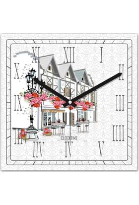 Clocktime By Cadran 30x30 Cm MDF Duvar Saati CTM144