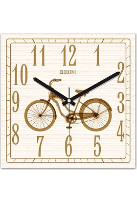 Clocktime By Cadran 30x30 Cm MDF Duvar Saati CTM165