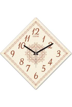 Clocktime By Cadran 30x30 Cm MDF Duvar Saati CTM167