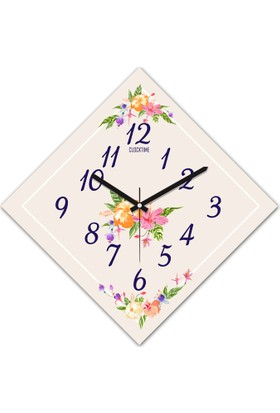 Clocktime By Cadran 30x30 Cm MDF Duvar Saati CTM174