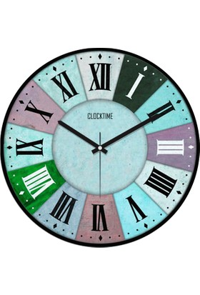 Clocktime By Cadran 30x30 Cm MDF Duvar Saati CTM27
