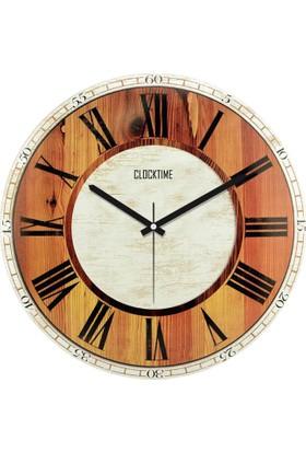 Clocktime By Cadran 30x30 Cm MDF Duvar Saati CTM40