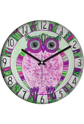 Clocktime By Cadran 30x30 Cm MDF Duvar Saati CTM54