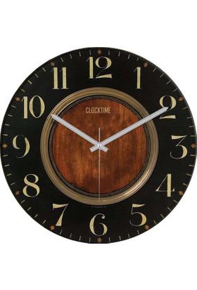 Clocktime By Cadran 30x30 Cm MDF Duvar Saati CTM57