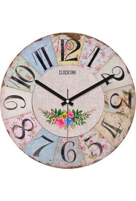 Clocktime By Cadran 30x30 Cm MDF Duvar Saati CTM6