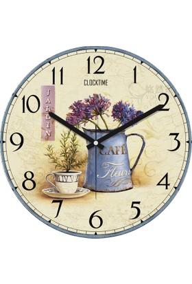 Clocktime By Cadran 30x30 Cm MDF Duvar Saati CTM60