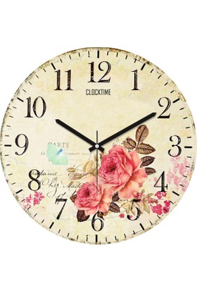 Clocktime By Cadran 30x30 Cm MDF Duvar Saati CTM92