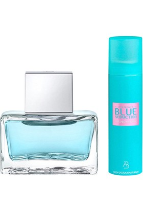 Antonio Banderas Blue Woman Edt 80 Ml + Deo 150 Ml