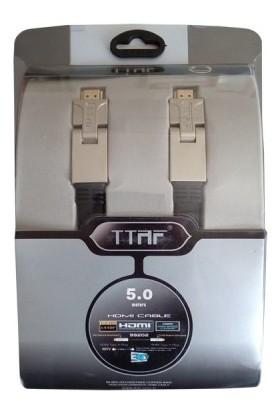Ttaf 5 Metre Hdmi Kablo 4K Full Hd 180 Derece
