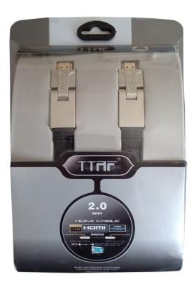 Ttaf 2 Metre Hdmi Kablo 4K Full Hd 180 Derece