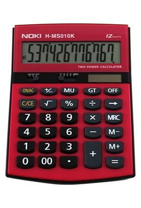 Noki Hesap Makinası 12 Hane Masa Üstü H-Ms010