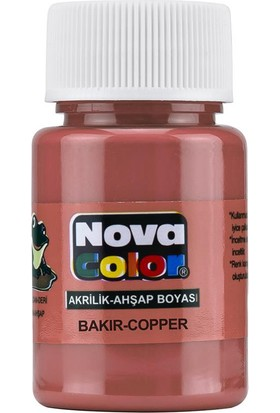 Nova Akrilik Boya Bakır Nc-236