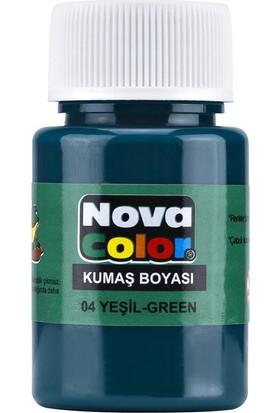 Nova Kumaş Boyası Yeşil Nc-162