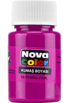 Nova Kumaş Boyası Pembe Nc-168
