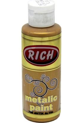 Rich Metalik Akrilik Boya 0726 Antik Altın 130 Cc