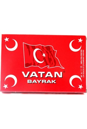 Vatan 500X750 Bayrak Vt114