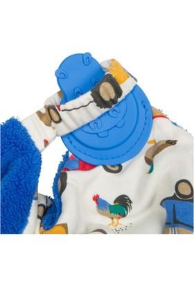 Cheeky Chompers Comfortchew Diş Kaşıyıcılı Uyku Arkadaşı (Farmer Joules)