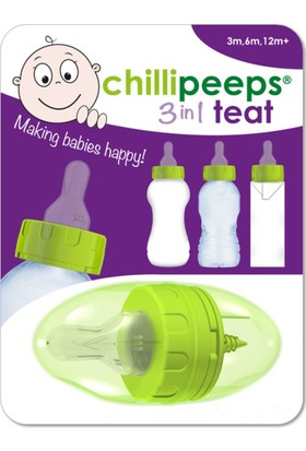 Chillipeeps Adaptörlü Biberon Ucu
