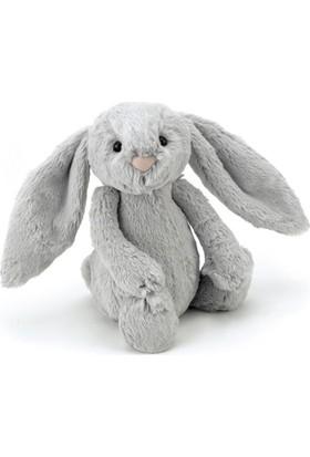 Jellycat Bashful Gri Tavşan Küçük Boy 18 cm