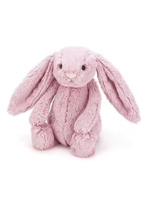 Jellycat Bashful Koyu Pembe Tavşan Büyük Boy 36 cm