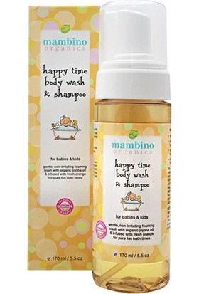 Mambino Organics Bebek Saç ve Vücut Şampuanı
