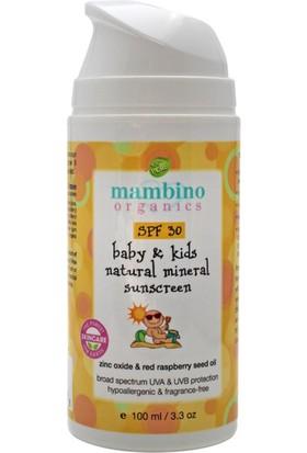 Mambino Organics Organik Bebek Güneş Kremi