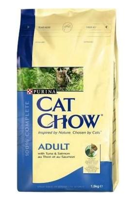Cat Chow Somon Balıklı Yetişkin Kuru Kedi Maması 15 Kg