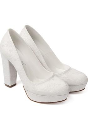 Gön Kadın Gelinlik Ayakkabı 45600