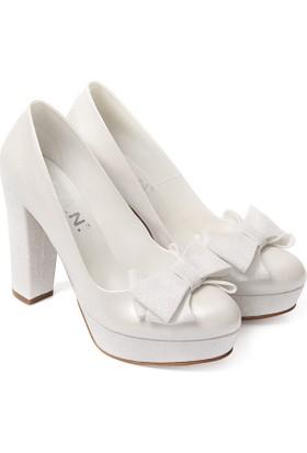 Gön Kadın Gelinlik Ayakkabı 45605