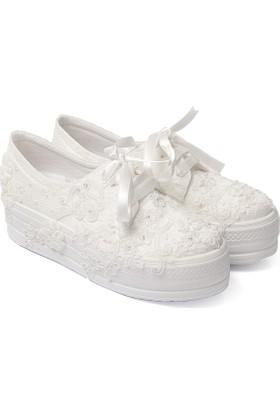 Gön Kadın Gelinlik Ayakkabı 45611