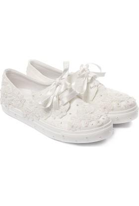 Gön Kadın Gelinlik Ayakkabı 45613