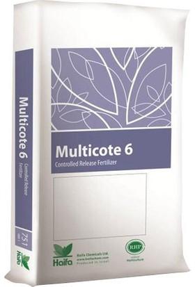 Haifa Multicote 6 (15-7-15+2MgO+ME) 6 aylık NPK Gübre 25 kg
