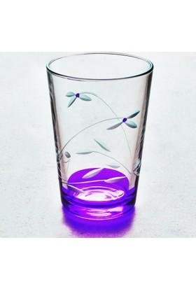 Başak 52052 Kardelen (Mor) Su Bardağı 12 Adet